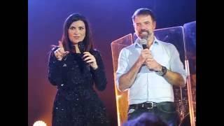 Laura Pausini en Uruguay - Canta con un fan
