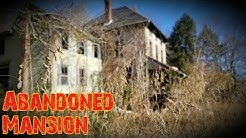 Huge Creepy Abandoned Mansion - Bug Infested Basement