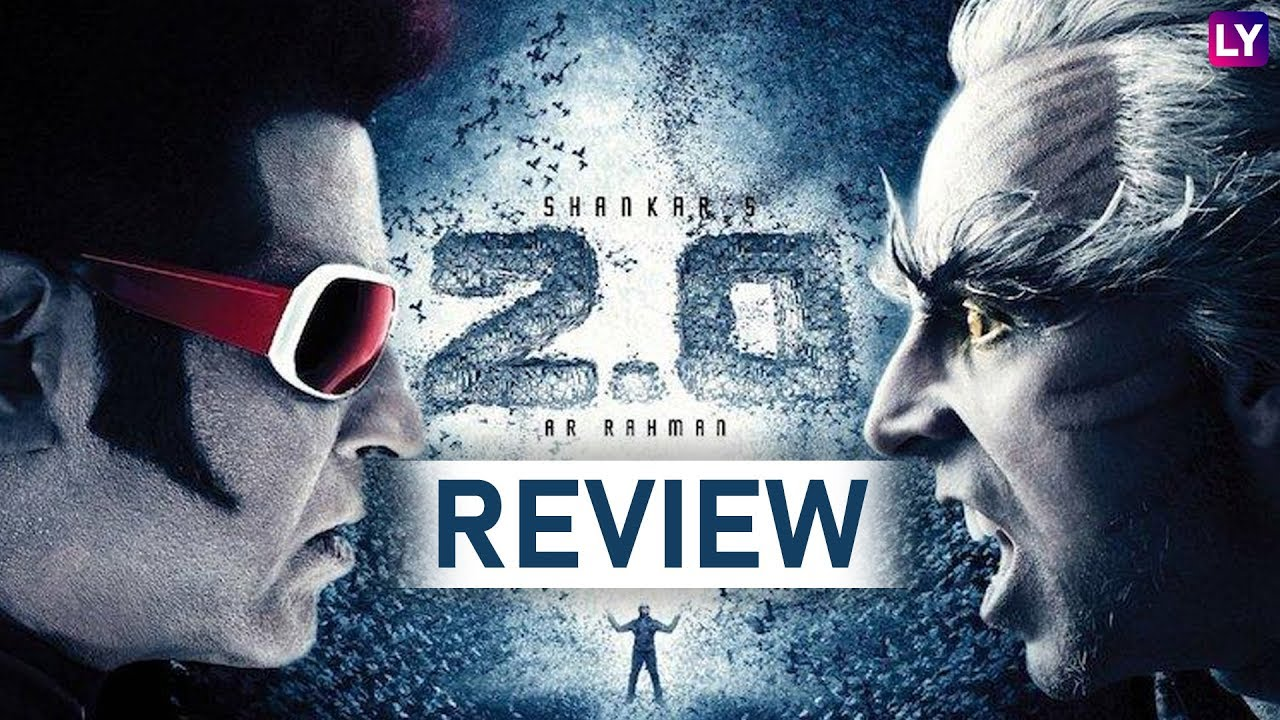 2 0 Movie Review: Rajinikanth and Akshay Kumar's Film is a 3