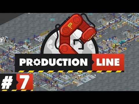 Production Line - PART #7 - Factory Strategy Management