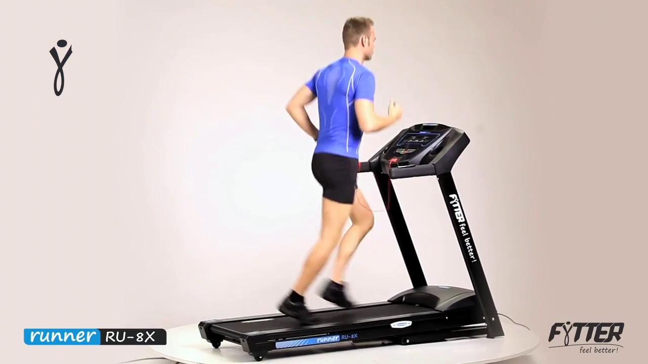 fytter runner ru 8x tapis de course tool fitness youtube. Black Bedroom Furniture Sets. Home Design Ideas