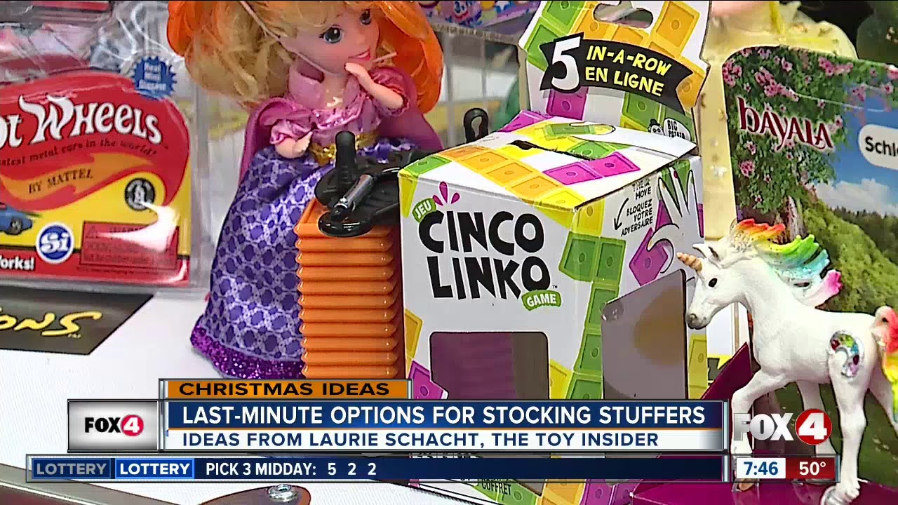 Super Stocking Stuffers on Fox Ft  Myers - The Toy Insider