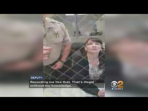 San Bernardino Deputy Caught On Video Threatening To Create Charges