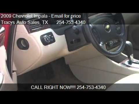 2009 chevrolet impala ltz for sale in waco tx 76711. Black Bedroom Furniture Sets. Home Design Ideas