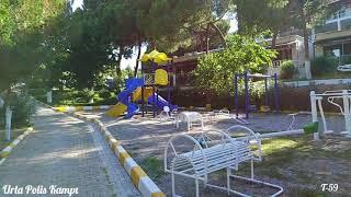 Urla Polis Kampı manzaraları