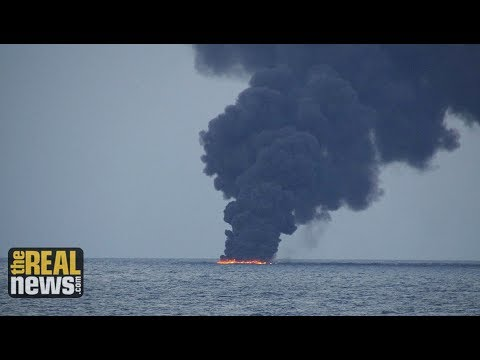 Massive Oil Spill in East China Sea Is the Size of Paris