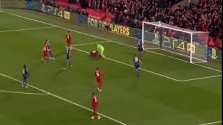 هدف الرابع لصالح ليفربول  ضد النجم الاحمر