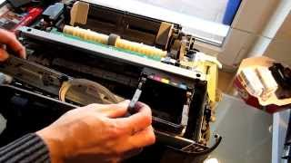 Как почистить принтер / How to clean printer / Drucker Reinigung  [Canon IP3600]
