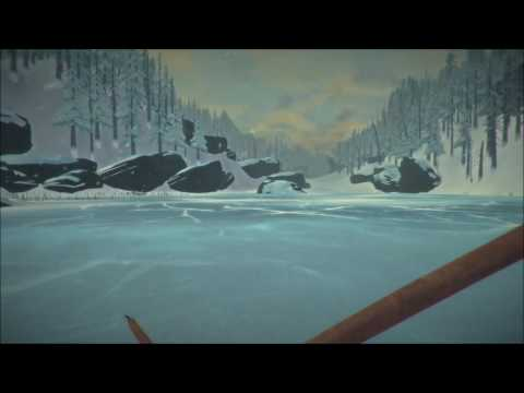 The long Dark part 17 - Gathering a great amount of wood & cooking.
