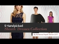 9 Handpicked Sheath  Dresses Collection By Adrianna Papell Winter 2017