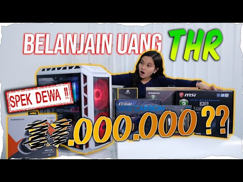 Unboxing Set Komputer Gaming