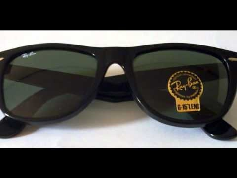3fccbafe15448 Ray Ban RB 2140 901 54 18 Black Plastic Wayfarer - YouTube