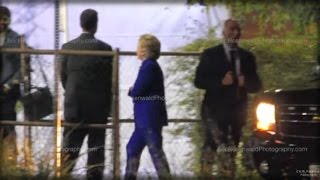 HILLARY'S MELTDOWN: CLINTON LATE FOR SPEECH, HAS HOARSE, RASPY VOICE, SEEN PACING IN LOT