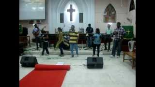 Montana - Music Department, India YFC at C.S.I. Redeemer church, Anna nagar.