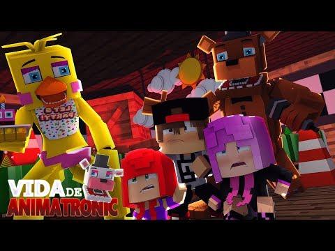 Minecraft: VIDA DE ANIMATRONIC #10 -SALVAMOS AS CRIANÇAS! ( FIVE NIGHTS AT FREDDY'S )
