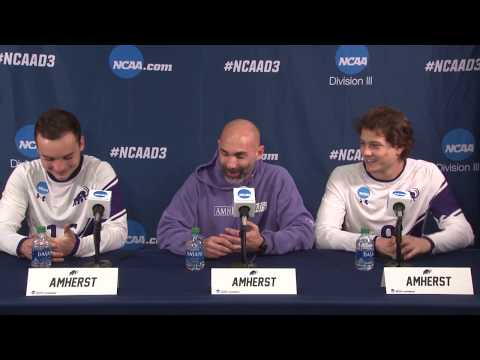NCAA National Semifinal - Amherst Men's Soccer Postgame Press Conference