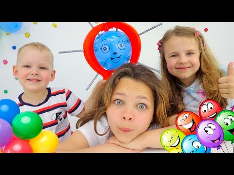 Развивающие игры для детей. Капуки дети и родители. Видео про игрушки. Настя и Ко: Шалун-балун