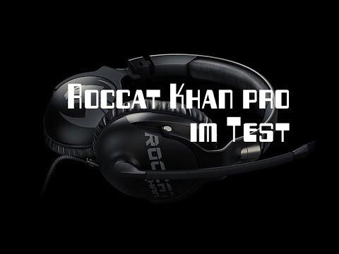 roccat khan pro test berzeugendes gaming headset f r. Black Bedroom Furniture Sets. Home Design Ideas