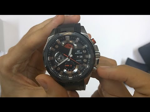 8aa08998bc5c Casio edifice (EFR-540-1AV) Unboxing - YouTube