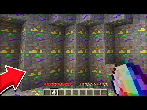 РАДУЖНЫЙ АЛМАЗ! Я нашел САМЫЙ РЕДКИЙ алмаз в МАЙНКРАФТ 100% троллинг ловушка Minecraft находка