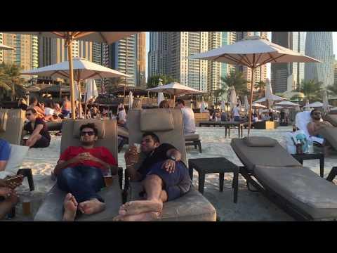 Barasti Beach Bar | Dubai Diaries | Coolest Beach In Dubai