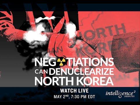 LIVE DEBATE – Negotiations Can Denuclearize North Korea
