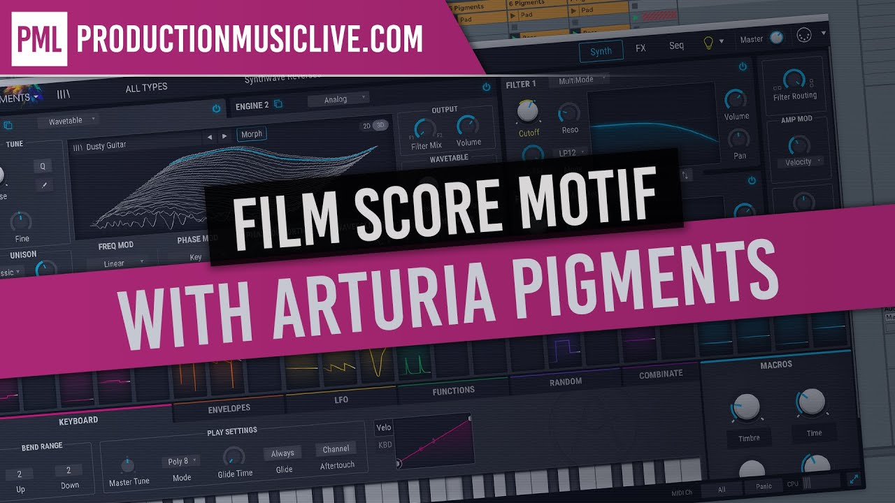 Arturia Pigments: Film Score Idea With One Chord - How To Make Beats