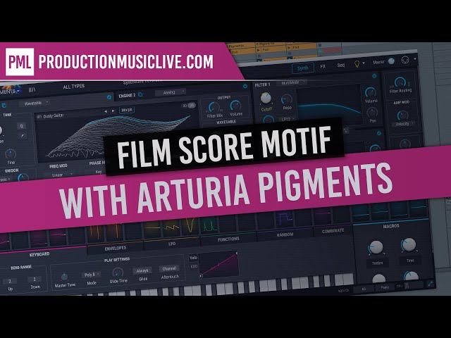 Arturia Pigments: Film Score Idea With One Chord