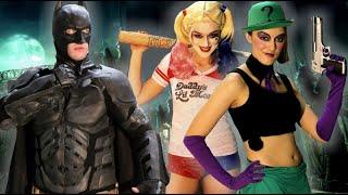 BATMAN vs RIDDLER & HARLEY