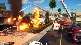 NEW - IS THIS THE BEST Multiplayer Firefighting Simulator?? | Firefighting Simulator - The Squad