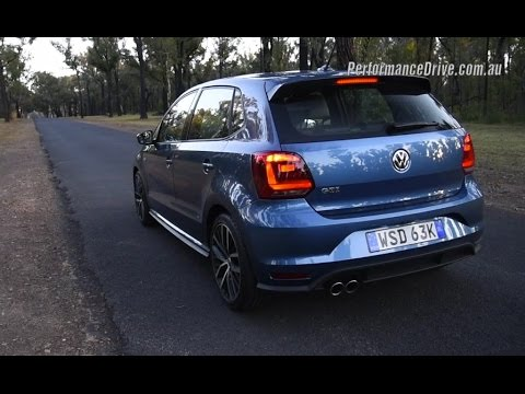2015 volkswagen polo gti dsg 0 100km h engine sound. Black Bedroom Furniture Sets. Home Design Ideas