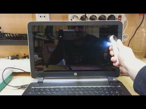 Нет подсветки в ноутбуке - необычный случай