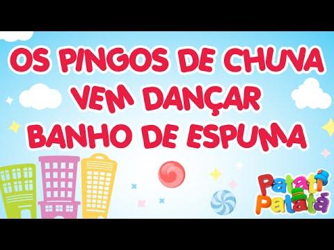 Patati Patatá - Os Pingos da Chuva / Vem Dançar / Banho de Espuma (DVD Na Cidade dos Sonhos)