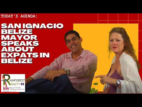 San Ignacio Belize Mayor Speaks about Expats in Belize
