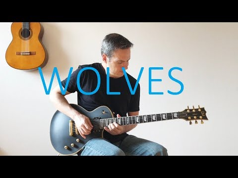 Wolves - Electric Guitar Cover with TABS - Selena Gomez Marshmello