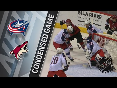 01/25/18 Condensed Game: Blue Jackets @ Coyotes