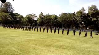 การฝึกทหารใหม่ ค่ายสุรนารี กลองทหารชั้งที่3