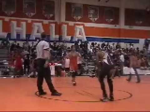 WRESTLING CIF 2009  FIRST 2 FIGHTS RENZO SALAZAR