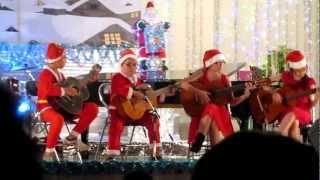 Jingle Bells - Hợp tấu Guitar - Cẩm Siêu, Minh Tuyết, Xuân Lâm, Vân Anh