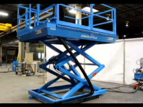 Advance Lifts - Work Access Lift Powered Platform Extensions & Articulated Stairs