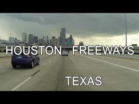 HOUSTON Texas FREEWAYS
