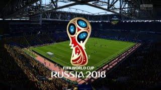 Чемпионат мира 2018 1/4 Аргентина Бразилия (онлайн турнир фифа 18)