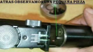 GAMO CFR / CFX 5.5 CAMBIO DE RESORTE (PASO A PASO)
