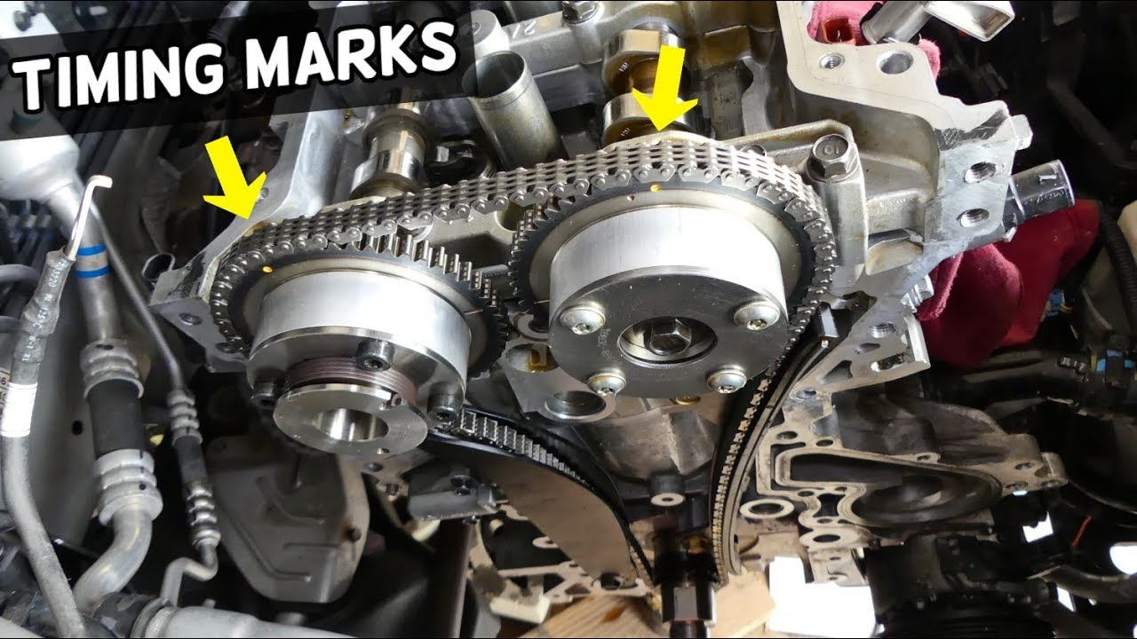 Timing Marks Chain Kia Forte Soul 1 8 2 0 Youtube