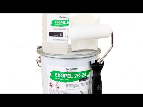 How To Refinish A Tub(Ekopel 2K December 2019 Updated Version)