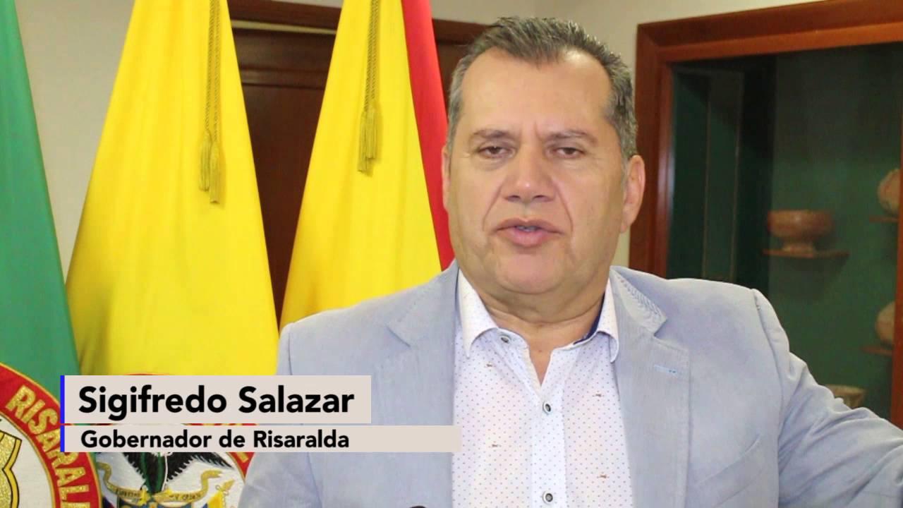 Resultado de imagen para SIGIFREDO SALAZAR OSORIO GOBERNADOR DE RISARALDA
