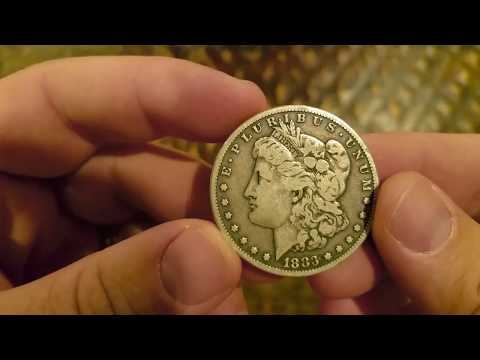 1883 Philadelphia Mint Morgan Silver Dollar