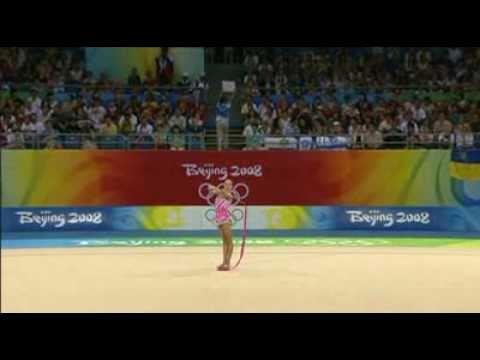 olga kapranova ribbon final aa beijing olympic games