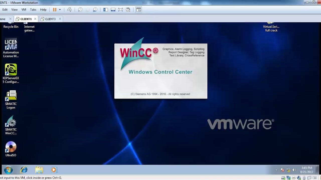 WINCC OPC UA SERVER Exchange data 2 PCs