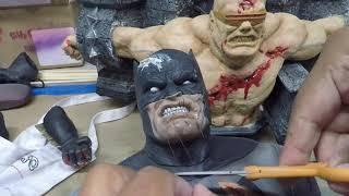Prime one 1/3 scale dark knight BATMAN  customization  PART TWO